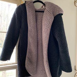 Urban Outfitters Reversible Sherpa Fleece Jacket